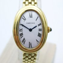 Cartier Baignoire Gelbgold Weiß