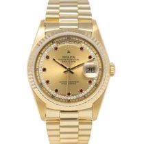 Rolex 18238 Yellow gold Day-Date 36 36mm pre-owned United States of America, New York, New York