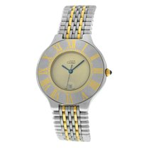 Cartier 21 Must de Cartier Gold/Steel 35mm White United States of America, New York, New York