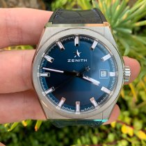 Zenith 95.9000.670/51.R584 Titanium 2019 Defy 41mm pre-owned United States of America, California, Los Angeles