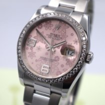 Rolex Datejust Acier 36mm Rose Arabes