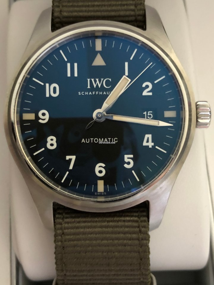 IWC Pilot Mark IW327007 2017 pre-owned