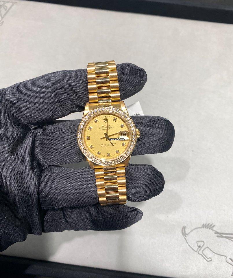 Rolex Datejust 68278 1989 usados