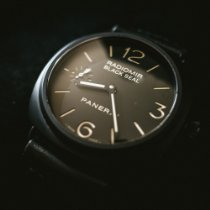Panerai Radiomir Black Seal usados 45mm Negro Piel