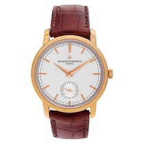 Vacheron Constantin Patrimony Rose gold 37mm Silver No numerals United States of America, Florida, Surfside