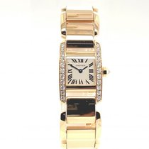 Cartier Tank (submodel) Yellow gold 26mm White