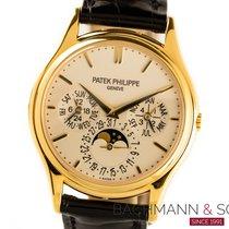 Patek Philippe Perpetual Calendar Gelbgold 37.5mm Silber Keine Ziffern Deutschland, München
