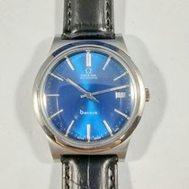Omega pre-owned Automatic 36mm Blue Plexiglass