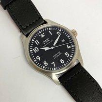 IWC Pilot Mark Steel 40mm Black Arabic numerals