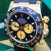 Rolex Daytona Gelbgold 40mm Schwarz Arabisch Deutschland, Eltville