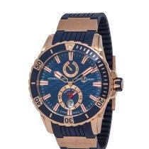 Ulysse Nardin Diver Chronometer Rose gold 44mm Blue United States of America, New York, Hartsdale