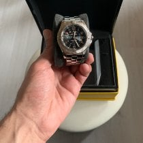 Breitling Colt GMT Steel 40mm Black Arabic numerals