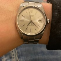 Rolex Oyster Precision Steel 34mm Silver No numerals United Kingdom, nottingham