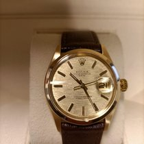 Rolex Oyster Perpetual Date Or jaune 34mm Or Sans chiffres France, Strasbourg