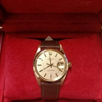 Rolex Oyster Perpetual Date Or jaune 35mm Or Sans chiffres France, Strasbourg