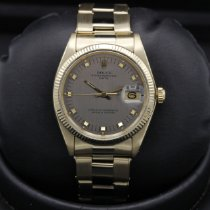 Rolex 1503 Yellow gold 1978 Oyster Perpetual Date 34mm pre-owned