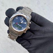 Tissot T-Touch II Stahl Blau