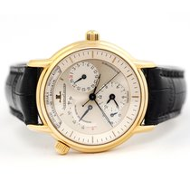 Jaeger-LeCoultre Master Geographic Yellow gold 38mm Silver No numerals United States of America, Florida, Aventura