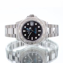 Rolex Yacht-Master 37 pre-owned 37mm Grey Date Steel