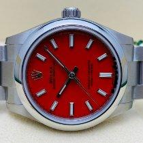 Rolex Oyster Perpetual 31 Acero 31mm Rojo Sin cifras España, Torrelavega