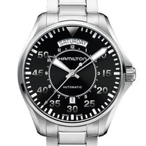 Hamilton Khaki Pilot Day Date Steel 42mm Black