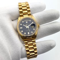 Rolex Day-Date 36 18038 Sehr gut Gelbgold 36mm Automatik