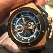 Hublot King Power Rose gold 48mm Black United Kingdom, London
