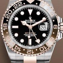 Rolex GMT-Master II Acero y oro 40mm Negro Sin cifras España, bilbao