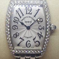 Franck Muller Cintrée Curvex Steel 25mm Silver Arabic numerals United States of America, Colorado, Denver