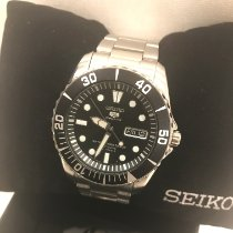Seiko 5 Sports Steel 41mm Black No numerals United States of America, Florida, Saint Augustine