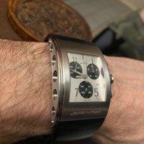 Jorg Hysek Stahl 32.3mm Quarz K102.0166 gebraucht