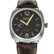 Panerai Radiomir 8 Days Titanium 45mm Brown Arabic numerals United States of America, Maryland, Baltimore, MD