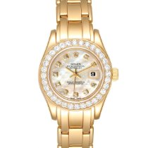 Rolex Lady-Datejust Pearlmaster Yellow gold 29mm Mother of pearl United States of America, Georgia, Atlanta