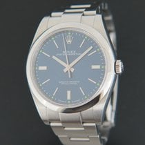 Rolex Oyster Perpetual 39 Staal 39mm Blauw Nederland, Maastricht