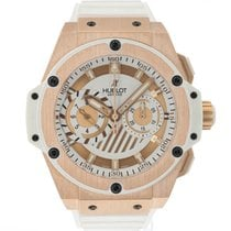 Hublot King Power 715.OE.2118.RW Très bon Or rose 48mm Remontage automatique