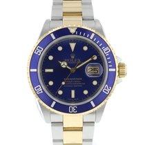 Rolex 16613 Or/Acier 2002 Submariner Date 40mm occasion