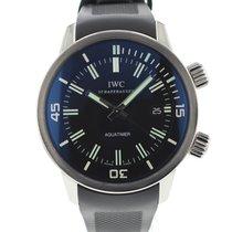 IWC Aquatimer Automatic Stahl 44mm Schwarz Arabisch