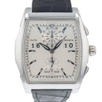 IWC Da Vinci Perpetual Calendar Digital Date-Month Platin 44mm Silber