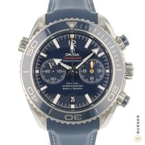 Omega 232.92.46.51.03.001 Titane 2013 Seamaster Planet Ocean Chronograph 45.5mm occasion