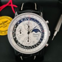 Breitling Montbrillant Olympus Steel 42mm White Arabic numerals