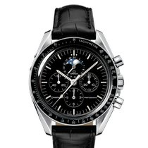 Omega Speedmaster Professional Moonwatch Moonphase Steel 42mm Black No numerals United Kingdom, London