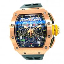 Richard Mille RM 011 Rose gold 49.4mm