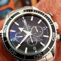 Omega Seamaster Planet Ocean Chronograph Acier 45.5mm Noir Arabes France, LA CIOTAT