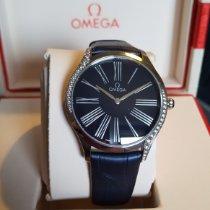 Omega De Ville Trésor neu 2017 Quarz Uhr mit Original-Box und Original-Papieren 428.18.36.60.03.001