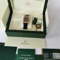 Rolex Cellini Prince Roségold 27,6mm Schwarz Arabisch Deutschland, Frechen