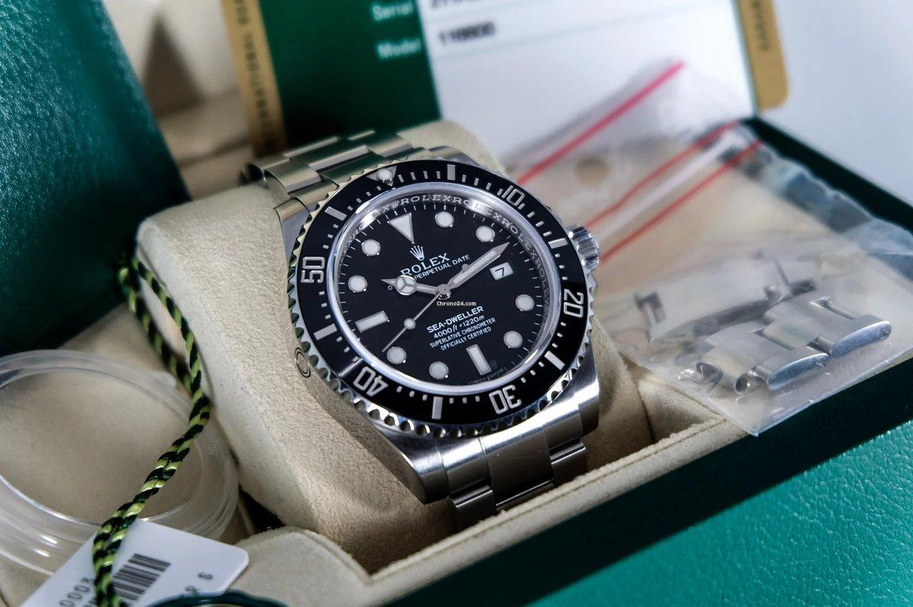 Rolex Sea-Dweller 4000 116600 2017 nieuw