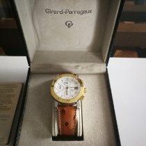 Girard Perregaux GP 7000 Staal 38mm Wit Geen cijfers