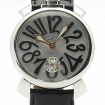 Gaga Milano Steel 48mm Manual winding 5010.07S pre-owned