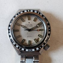Zenith Steel Automatic White No numerals 37mm pre-owned Defy