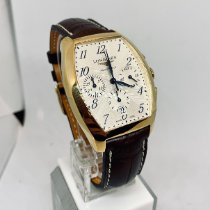 Longines Yellow gold Automatic Silver Arabic numerals 40mm new Evidenza